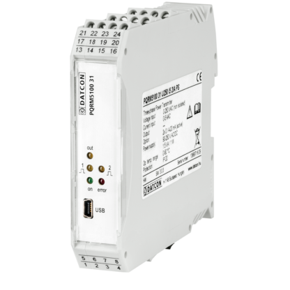 PQRM5100 31 three phase multifunction power transmitter